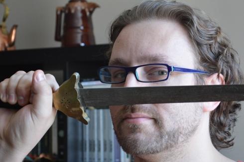 Eric Jean, co-creator of the Bard Brawl.