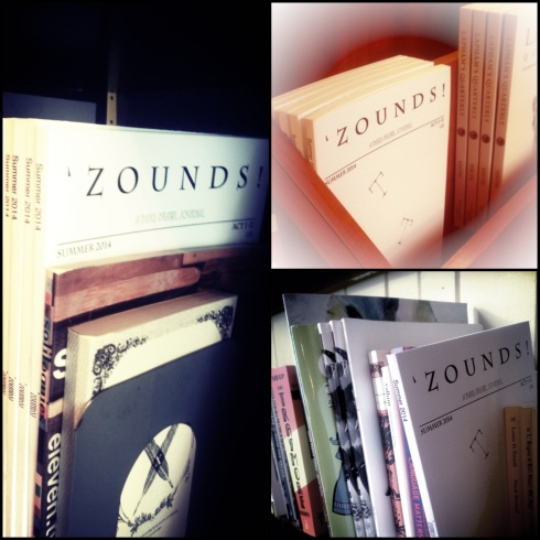 'Zounds! Act I, scene ii, available now at fine Montreal book stores.