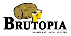 Brutopia Brew Pub - 1219 rue Crescent, Montreal, Quebec H3G 2B1.