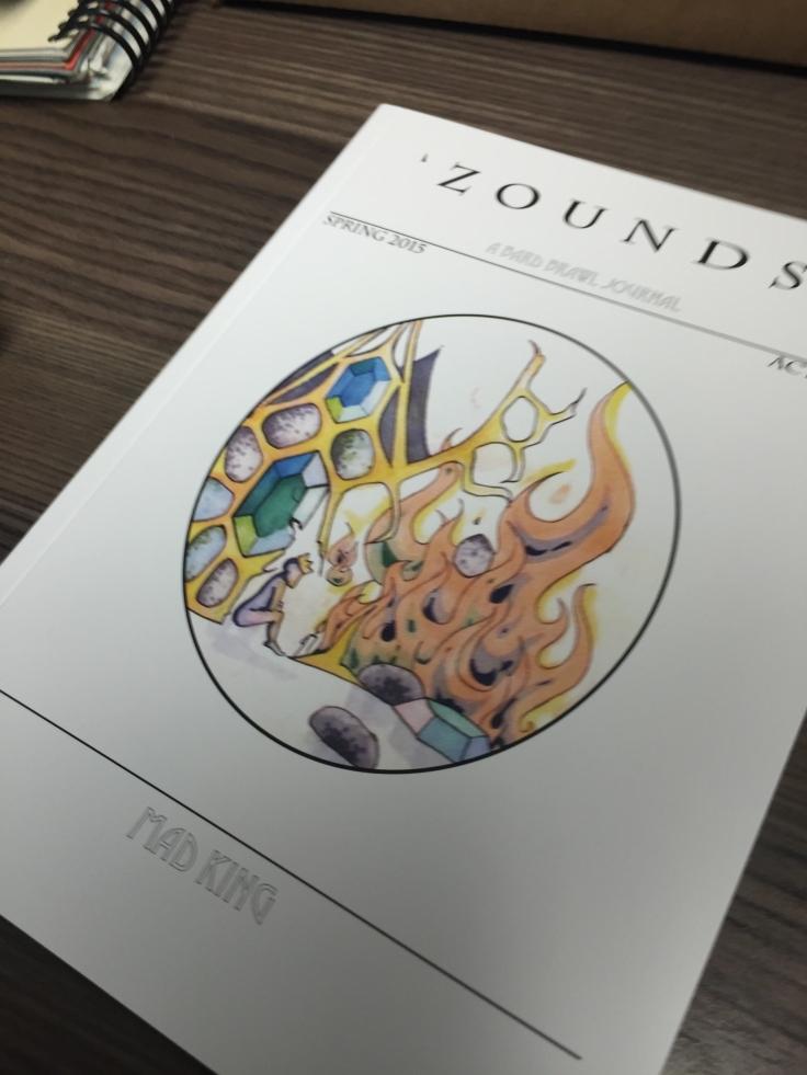 'Zounds! Act I, scene iii; Mad King.