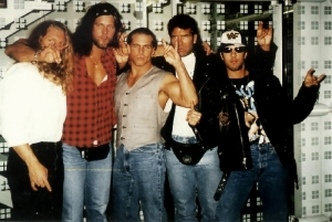 Can you believe that, once upon a time, these guys were the hottest thing in wrestling?