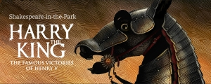 Repercussion Theatre's Harry the King coming to a park near you until August 3rd!