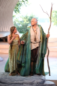 Relinquishing solitude and embracing the brave new world is a wise model for theatre goers who should take in the Tempest. Photo credit - David Blue