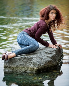 Model: Saphia; Photo Credit: Jacques Carrière; Leggings: Black Milk Clothing